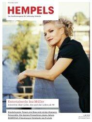 Entertainerin Ina Müller - Hempels