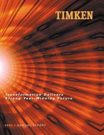 notes - Timken