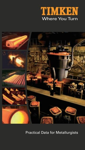 Practical Data for Metallurgists - Timken