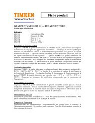 Lubricating Grease - Timken