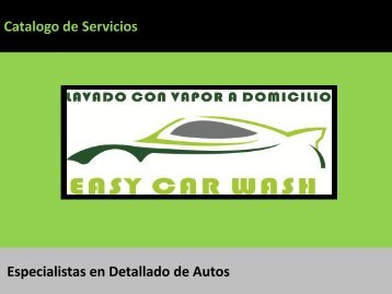 Catalogo Easy Car Wash (Fiestas patrias 20% - 30%)