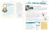 ARts Library News - UCLA Library