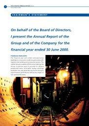 HumeInd-ChairmanStatement I.pdf - Bursa Malaysia