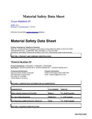 Material Safety Data Sheet Material Safety Data Sheet - Timken