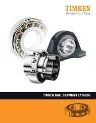 Ball Bearings Catalog - Timken