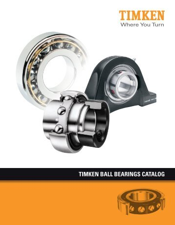 Ball Bearings Catalog - Timken