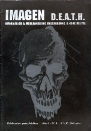 Imagen Death - Año 1 - Nº1