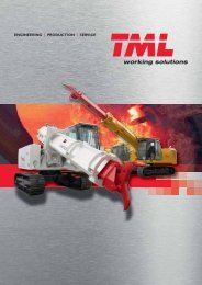 ENGINEERING | PRODUCTION | SERVICE - TML working solutions
