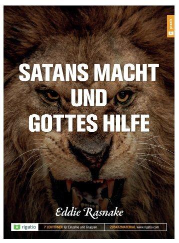 Eddie Rasnake: Satans Macht und Gottes Hilfe - Ein Kurs
