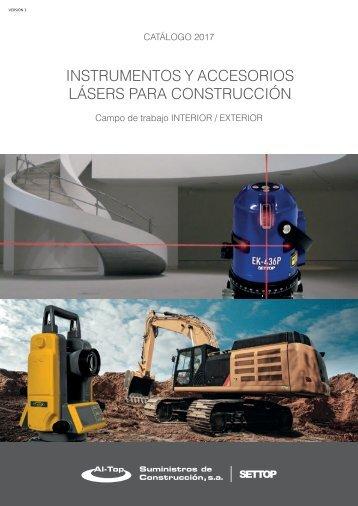 Catálogo Settop  Construcción 2017