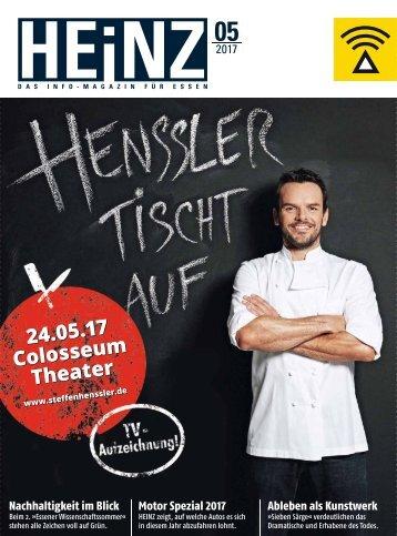HEINZ Magazin Essen 05-2017