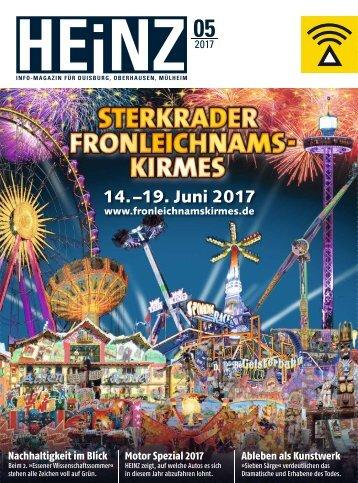 HEINZ Magazin Oberhausen 05-2017