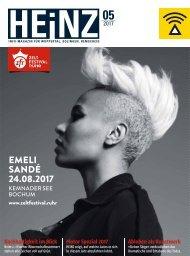 HEINZ Magazin Wuppertal 05-2017