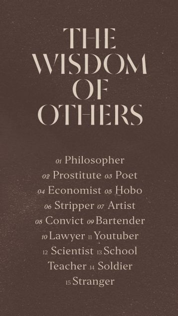 Wisdom of Others