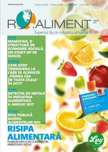 Revista RO.aliment editia 5 - expertul tau in industria alimentara