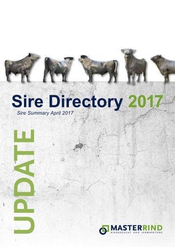 Update Sire Diretory April 2017