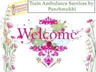 Get Low Train Ambulance Services in Kolkata and Guwahati