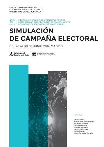 Simulacion de Campaña Electoral 2017