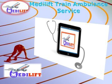 Neet low cost  Train Ambulance Services kolkata and Delhi