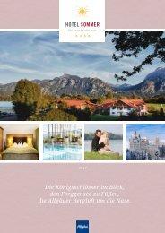 Hotel Sommer - Katalog 2017