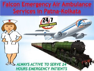 Falcon Emergency Reliable Air Ambulance Services in Patna to Delhi is Available Now