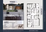 Single Homes Brochure Print