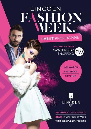 Lincoln Fashion Week Programme 2017