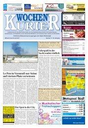Wochen-Kurier 17/2017 - Lokalzeitung für Weiterstadt und Büttelborn