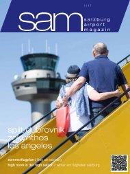 Salzburg Airport Magazin SAM 2017-01