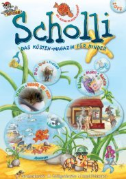 SCHOLLI - Das Küsten-Magazin für Kinder 2017