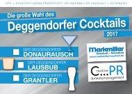 Postkarte Cocktails