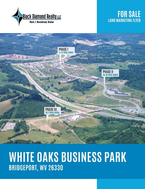 White Oaks Business Park Marketing Flyer