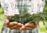 Herbafrost catalog  web Organic  2017