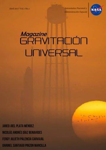 GRAVITACIÓN UNIVERSAL MAGAZINE VOL. 1