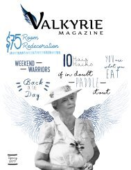 Valkyrie Spring 2017 - Issue 3