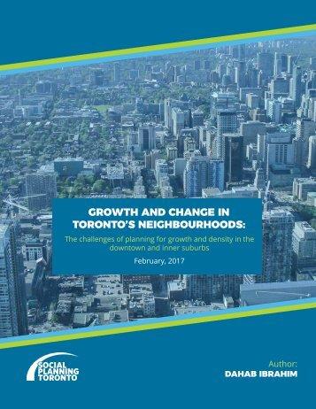 Growth and Change in Toronto's Neighbourhoods