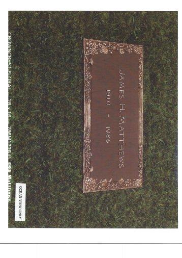28x16 Crowncrest Floral
