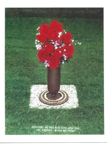 Memory vase