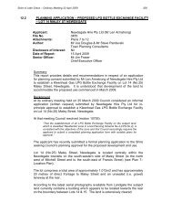 12.2 PLANNING APPLICATION - Shire of Lake Grace