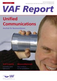 Unified Communications - VAF - Bundesverband ...