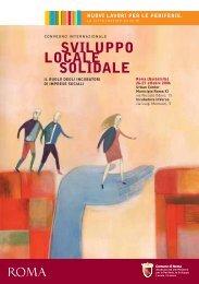 SVILUPPO LOCALE SOLIDALE - Urban Center Roma XI