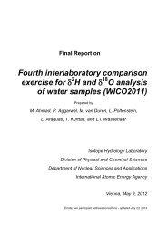 final WICO 2011 report - Nuclear Sciences and Applications - IAEA