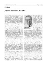 Johannes Meyer-Rohn 1912-1997