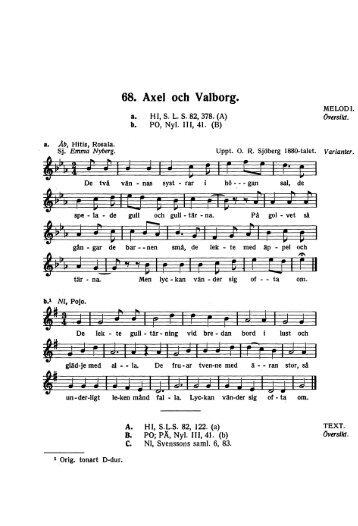 68. Axel och Valborg.