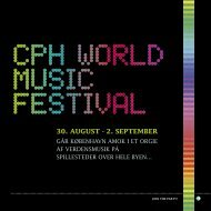 30. august - 2. september - CPH World