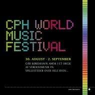 30. august - 2. september - CPH World