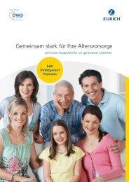 bAV Direktgarant Premium - Zürich Versicherung