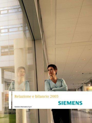 Stato Patrimoniale - Siemens