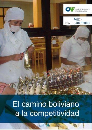Memoria Proyecto: El camino Boliviano a la Competitividad