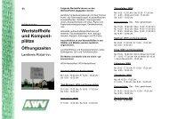 Wertstoffhöfe und Kompost - AWV Isar-Inn